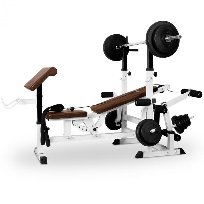 Klarfit posilovací lavice, bench press