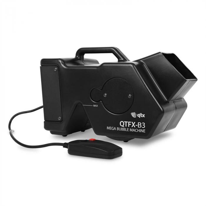 QTX-B3 MEGA BUBBLE MACHINE DISKO EFEKT 1.8L
