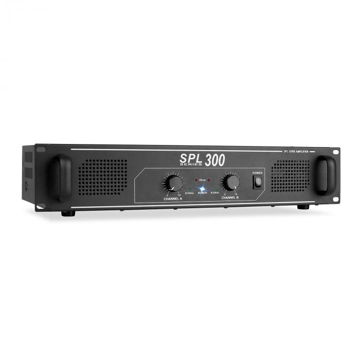SPL 300, DJ PA 300 W LED, AUDIO POJAČALO