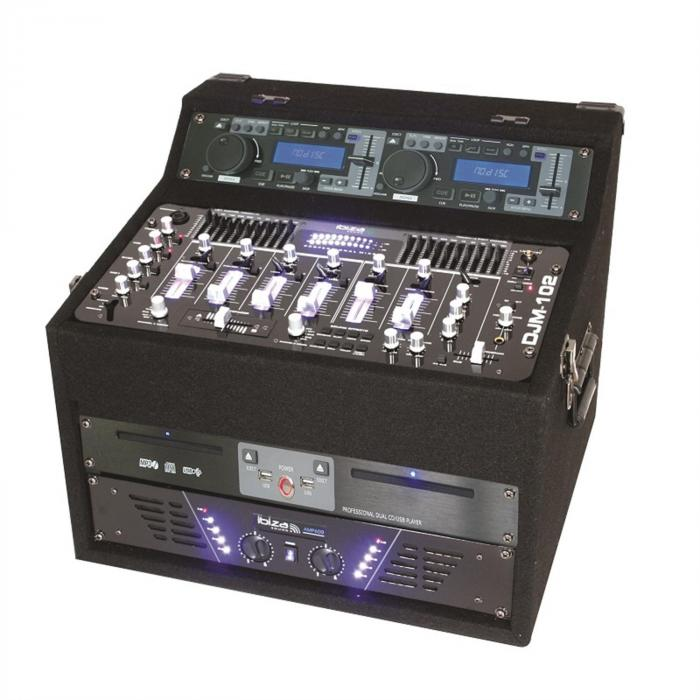 DJ1000 MKII, DJ CD MP3 USB SD AUX, STANICA