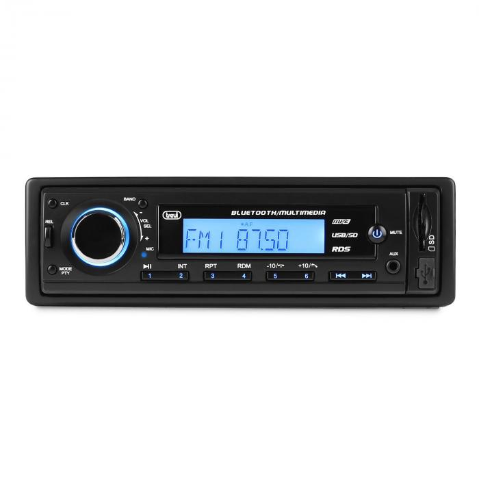 Trevi SCD 5725 BT, autorádio, bluetooth, USB, SD, AUX, FM/AM, RDS