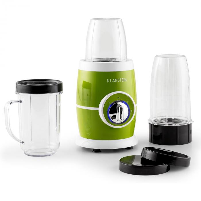 Klarstein Juicinho Nero, 220 W, Blender, priprema smoothie, 8 komada set