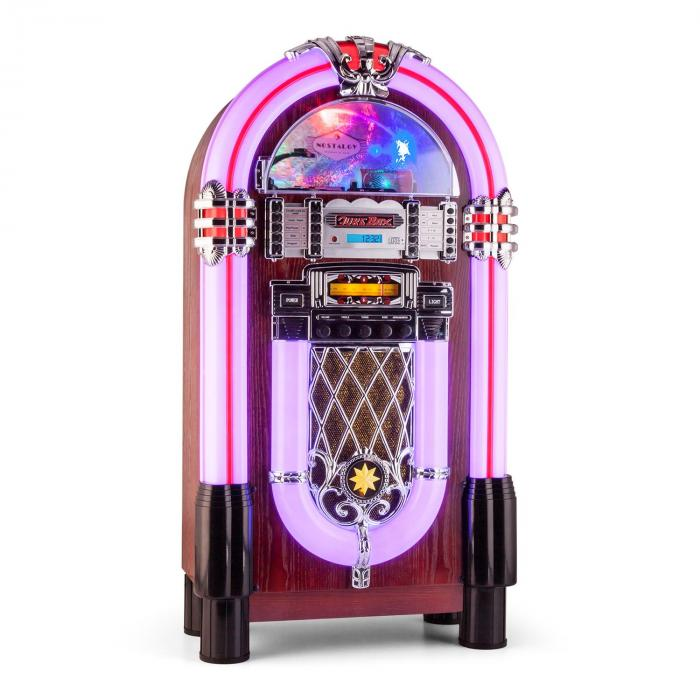 Auna Graceland XXL BT, jukebox s bluetooth USB SD AUX CD FM/AM