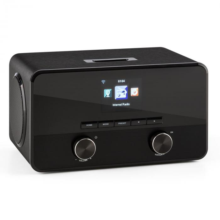 CONNECT 100, INTERNETSKI RADIO, MEDIA PLAYER, BLUETOOTH, WLAN, USB, AUX, LINIJSKI IZLAZ