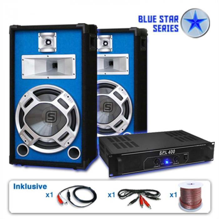 "Set PA Seria Blue Star ""Starter"" 1200 W"