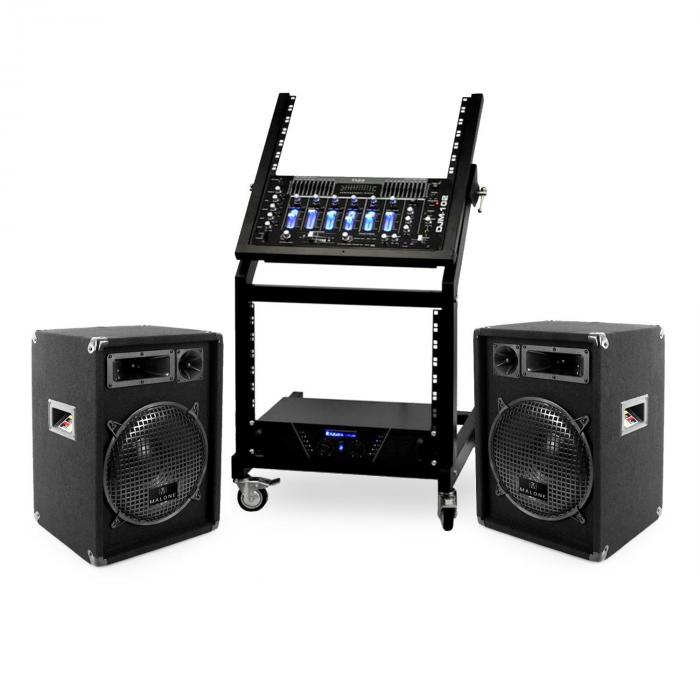 DJ PA Set Rack Star Seria 1200W Mercur Beat