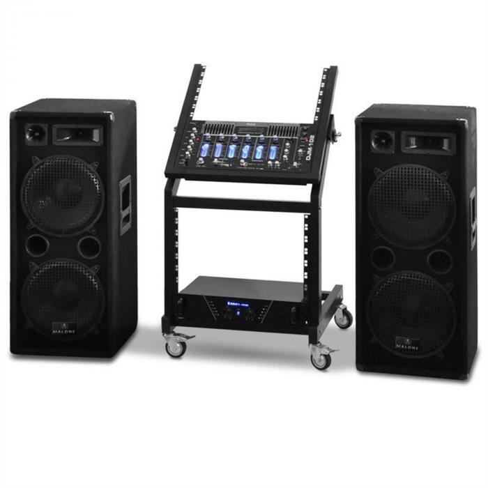 DJ PA Set Rack Star Seria Mars Flash 400 persoane
