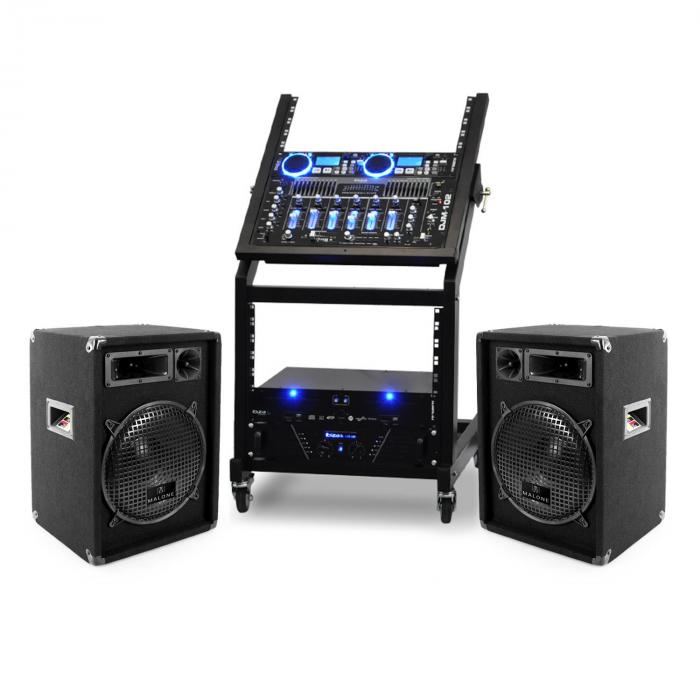 Set DJ - PA Rack Star Uranus Blues 250 Persoane