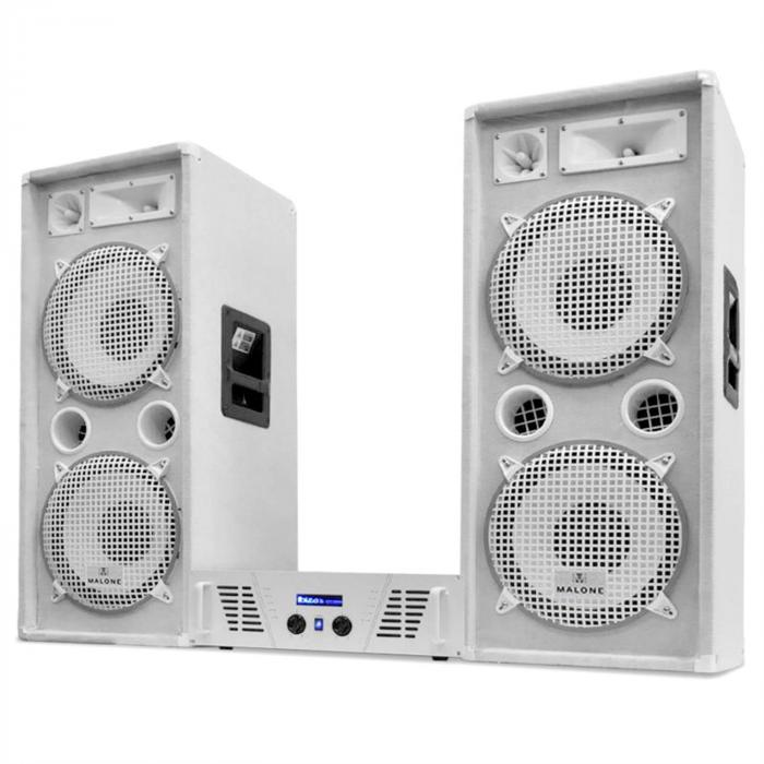 "Set DJ-PA Seria White Star ""Arctic Ice"" 2000W"