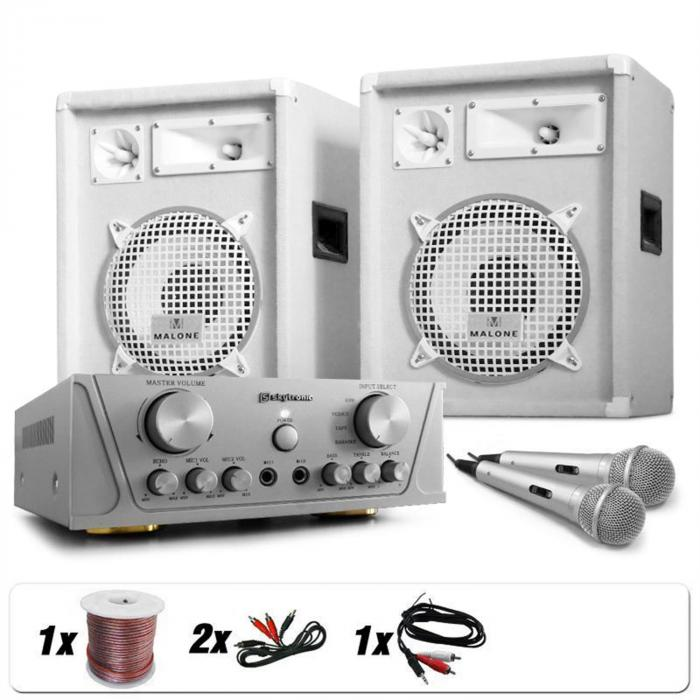 Grönland Deluxe, DJ PA set White Star Series, 800 W