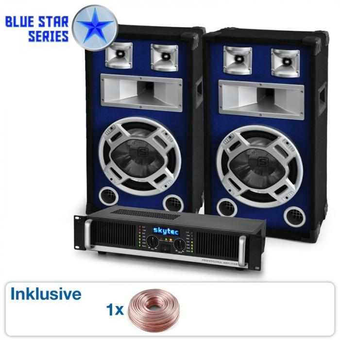 "PA Set Blue Star Series ""Beatbass II"" 1200 W"