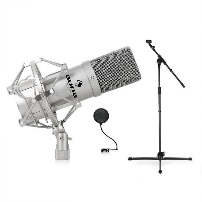 SET mic, stalak, mikrofon i POP FILTER