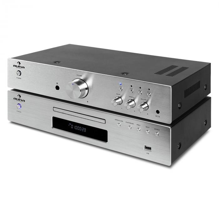 """Elegance TOWER"" 2.0 SET HIFI, CD player, 600 W"