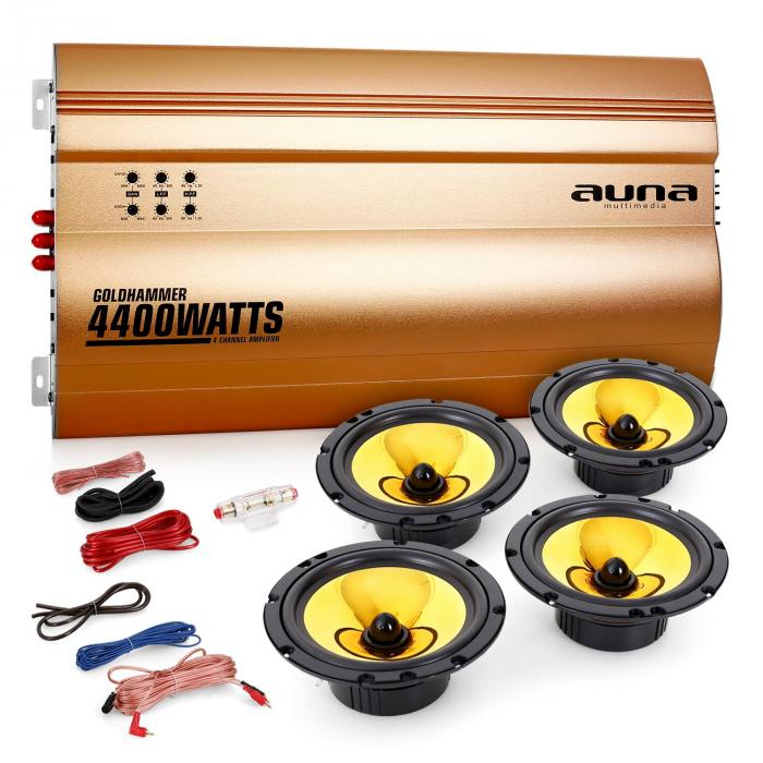 "4.0 auto hifi set ""Golden Race V6"""