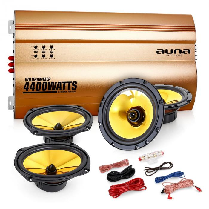 "4.0 auto hifi set ""Golden Race V7"""
