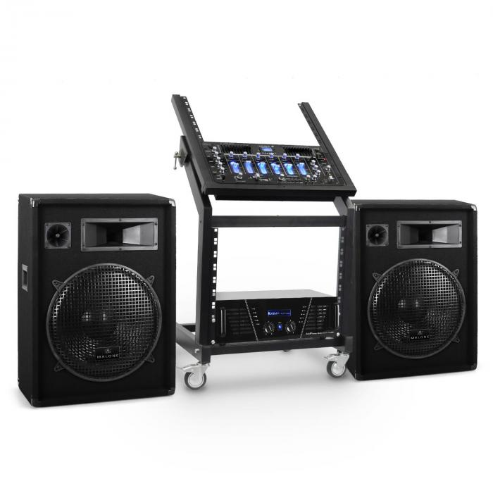 DJ PA Set Sistem Rack Star Series Venus Bounce Bluetooth