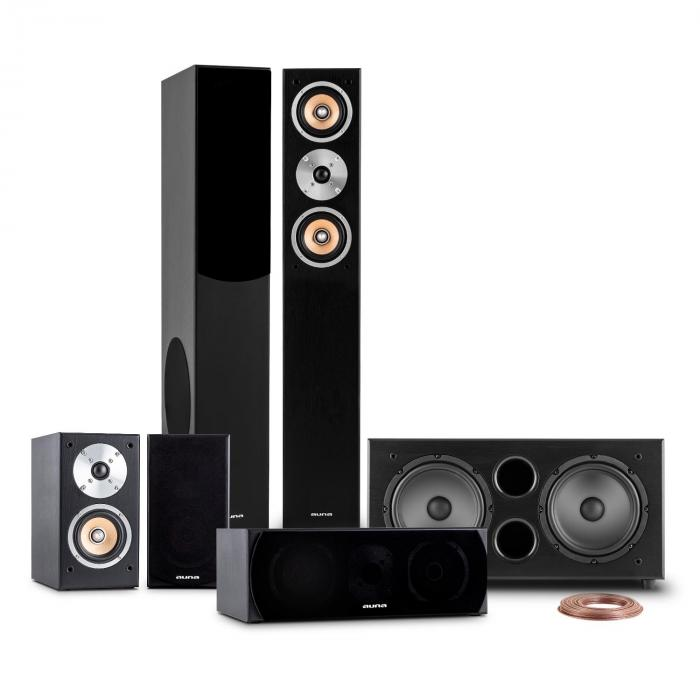 Line-501-BK 5.1 Home Theater Sound System 600W RMS