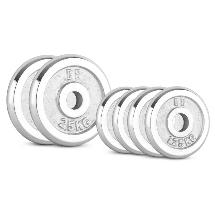 CP 10 kg, Set uteži za drog, CAPITAL SPORTS CP 37,5 kg, Set uteži za drog, 30 mm
