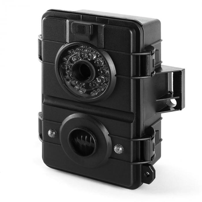 Grizzly 3.0, 8 MP, crna, snimanje/time lapse kamera za prirodu, SD, LED blic, TV izlaz, HD video