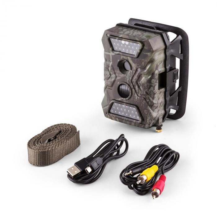 GRIZZLY Mini GSM, lovački fotoaparat, 40 crnih LED dioda, 12 MP, full HD, USB, SD, baterija