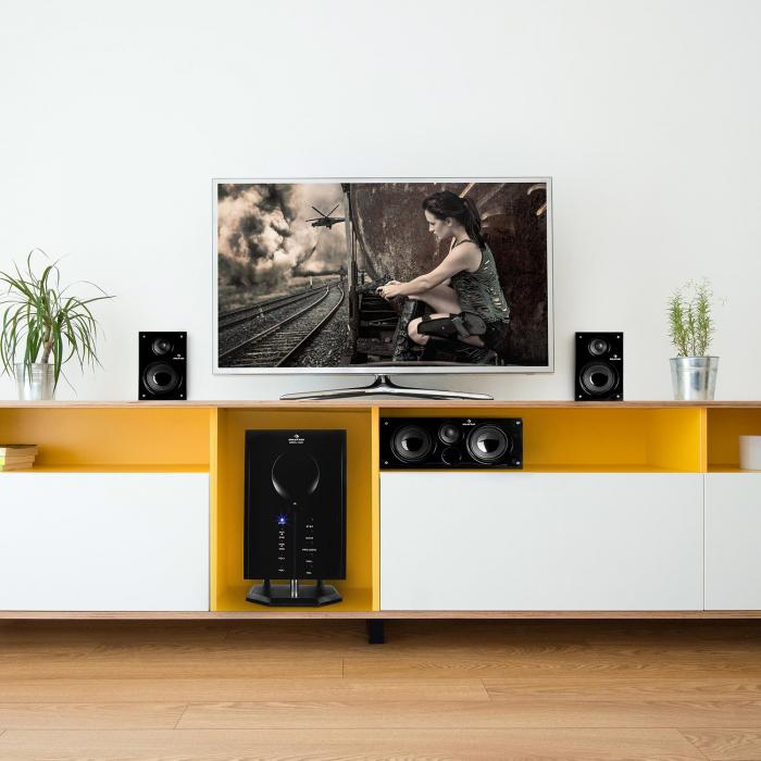 5.1 Surround Sound Sistem aktivnih zvučnika 65 W RMS