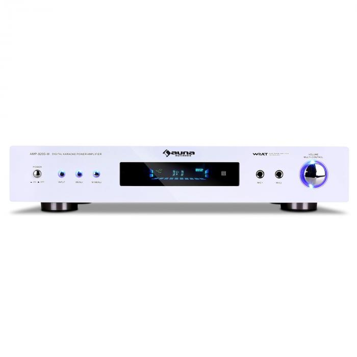 Amplificator surround AMP-9200 600W , design alb
