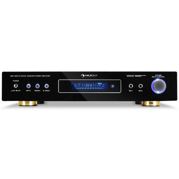 Amplificator surround AMP-9200 600W , design negru
