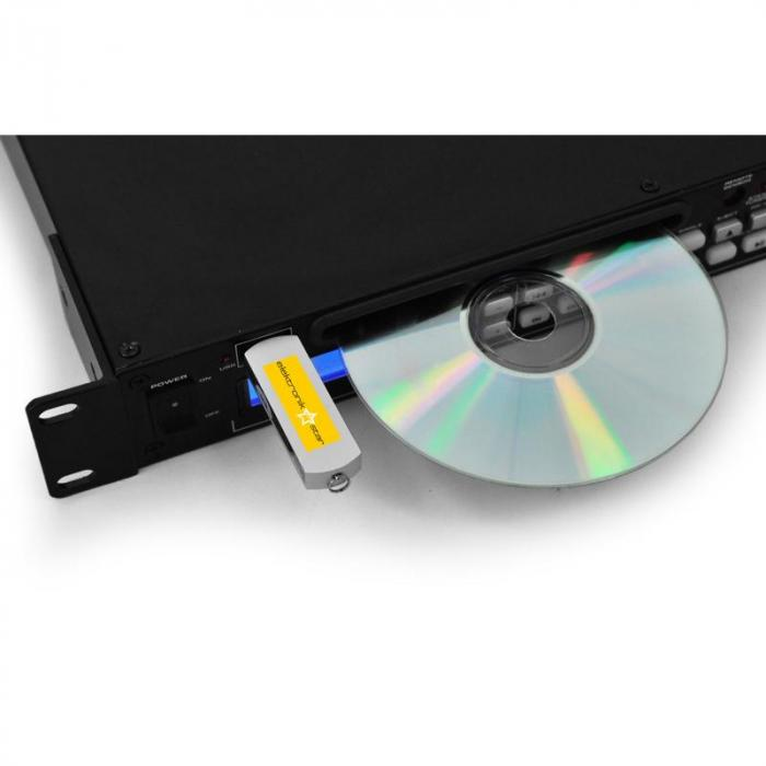 Install One DJ CD USB MP Player