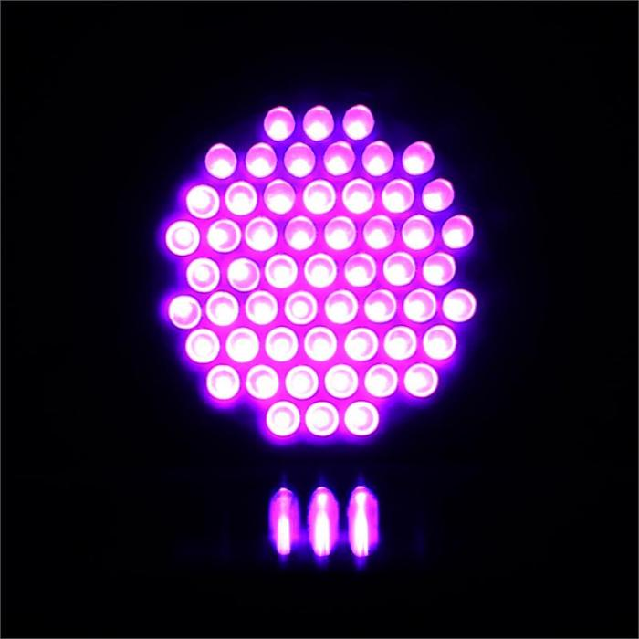 PAR36, DMX UV ULTRAVIOLETNA DISCO 55 LED RASVJETA