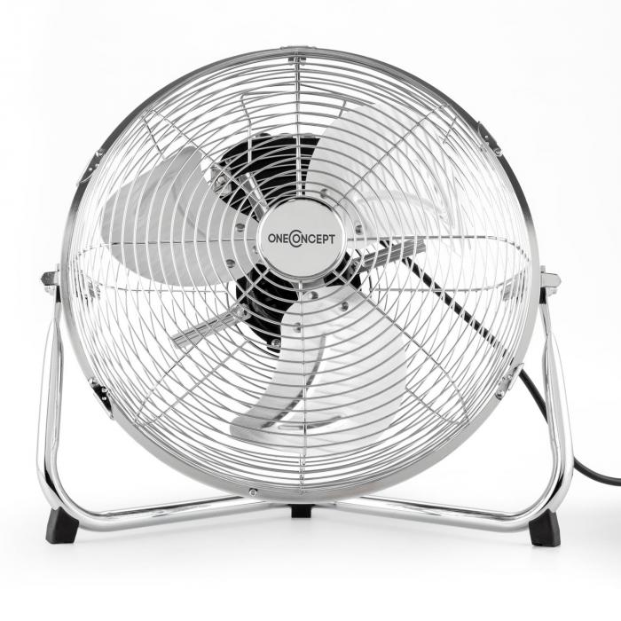"Metal Blizzard Floor Fan 12 ""55 W rabatabil"