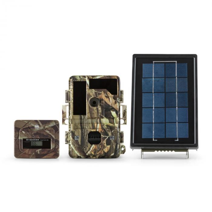 Solar grizzly, lovački fotoaparat, set, crne led diode, hd, mp, solarni panel