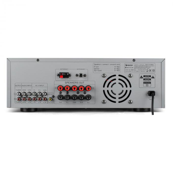 AMP- 5100 5.1 POJAČALO SURROUND SOUND RECIEVER 1200 W
