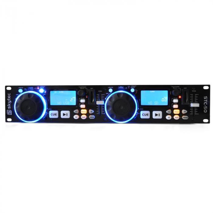 STC-50 DJ MP3 Player - 2 Decks USB SD