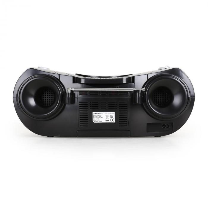 Boombox Majestic AH 231, CD, MP3, USB, SD, AUX