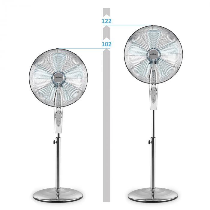 Metal Blizzard RC Standventilator 50W 40.6cm