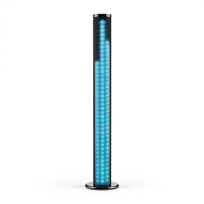 Light Up, Tower-zvučnik, 40W, Bluetooth, LED, USB, FM, crni