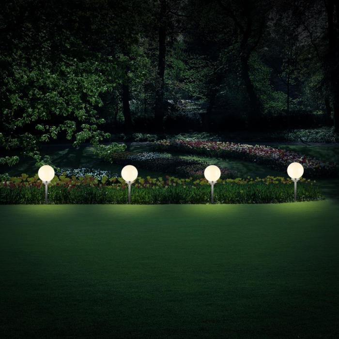 2 X ONECONCEPT LED-FLOWER 30, PROMJER 30 CM, 4 LED DIODE, IP44