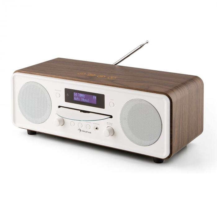 Melodia CD, orah, DAB + / FM stolni radio, CD player, Bluetooth, Alarm, funkcija odgode