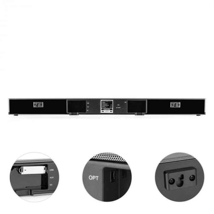 AREAL BAR 950 SoundBar, subwoofer, 140 W, BT, USB, MP3, intrare optică digitală