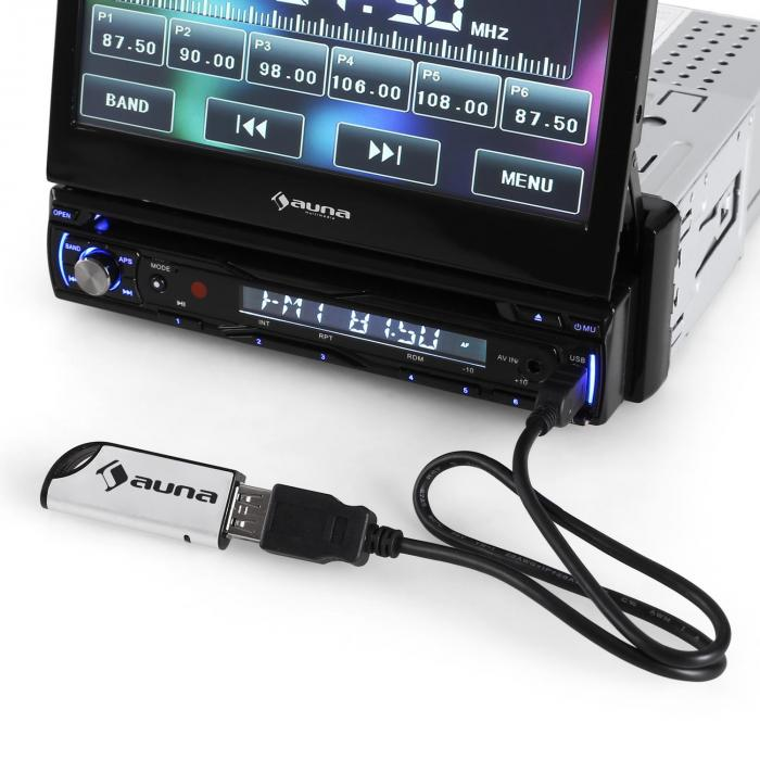 "DTA90 DVD Player za auto Stereo Radio 7"" LCD Bluetoot"
