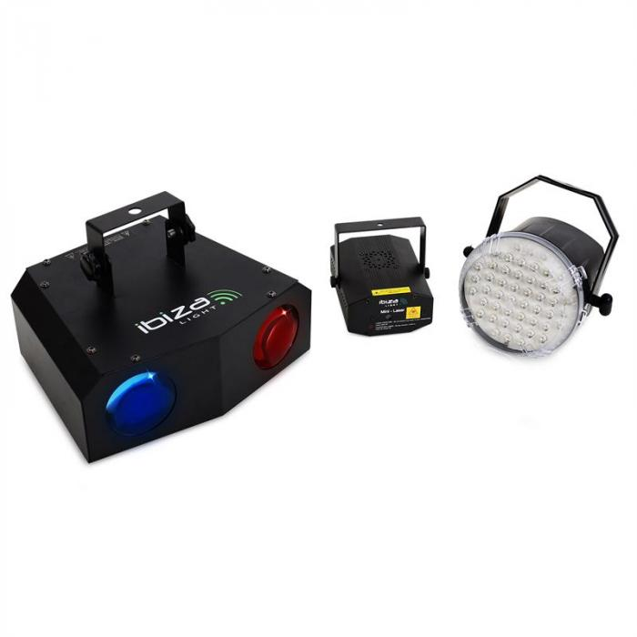 Night'N'Light LED Moonflower Strobe Lasersko Svijelto