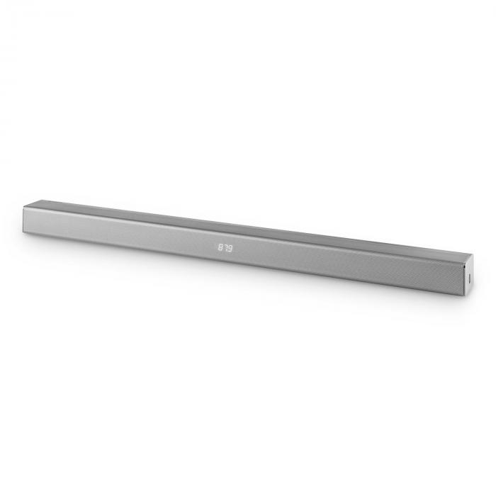 Areal Bar 350, 80W, argintiu, 2.0 Soundbar, bluetooth USB FM crom metal