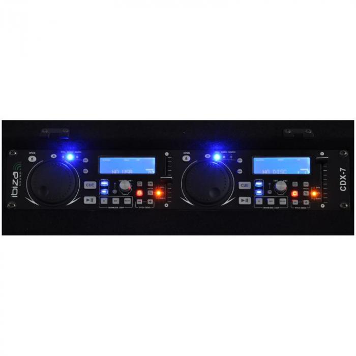 DJ1000 MKII, DJ Station CD MP3 USB SD AUX