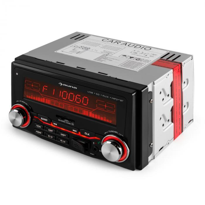 MD-830 USB SD radio auto MP3 Bluetooth 3 culori