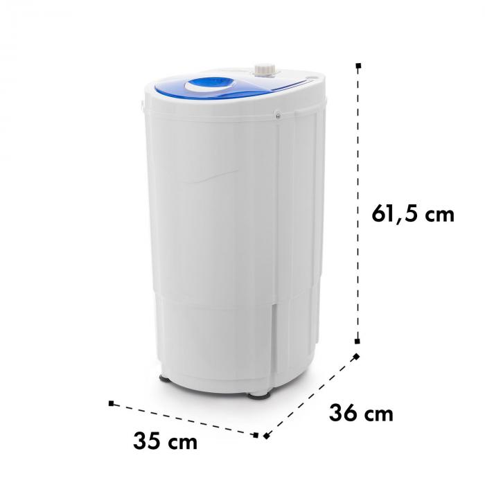 Top Spin Compact, центрофуга, 45 W, 1.5 kg, таймер, бяло/синя