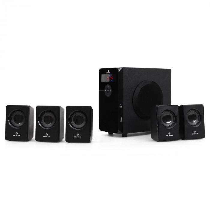 HF583 5.1 Surround Sound zvočniki USB SD MP3 70 W RMS