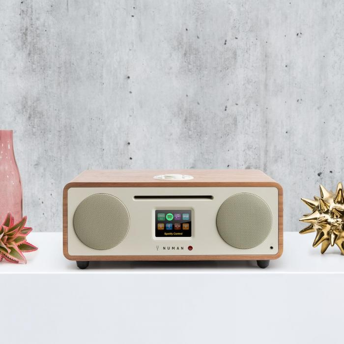 TWO, 2.1 internet radio, CD, 30 W, USB, Bluetooth, Spotify CONNECT, DAB +, orah